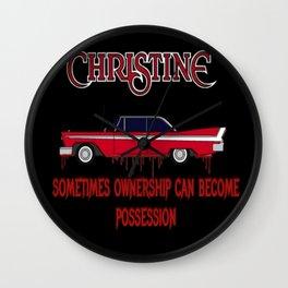 Christine Possession Wall Clock