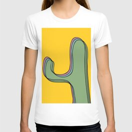 The color cactus T-shirt