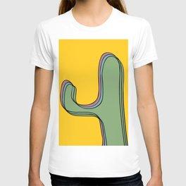 The color cactus T-shirt