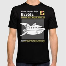 Bessie Service and Repair Manual Black Mens Fitted Tee SMALL