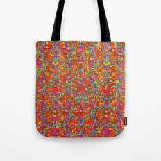 Verre Colore Pattern Tote Bag