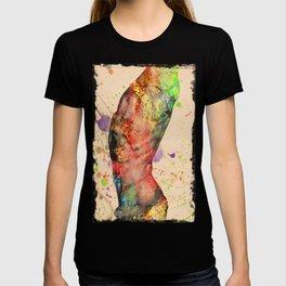 burning nude   T-shirt