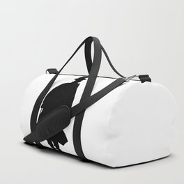 Jack the Ripper Silhouette Duffle Bag