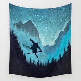 Ride Ski Wall Tapestry