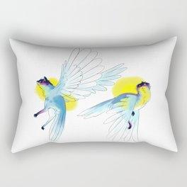 Cats flying Rectangular Pillow