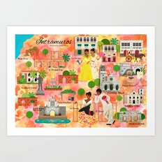 Intramuros Art Print