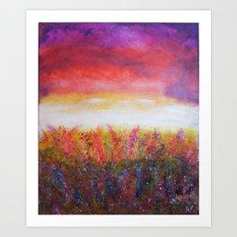 Wildflower Daze Art Print