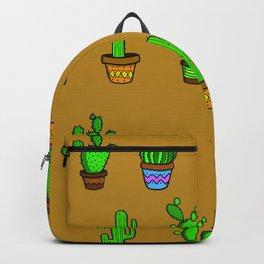 Cactus Brown Backpack