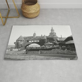 1890 Narragansett Towers & Casino, Narragansett, Rhode Island Rug
