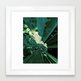 lost in the clouds 2 Framed Art Print