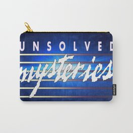 Unsolved Mysteries Remastered Carry-All Pouch