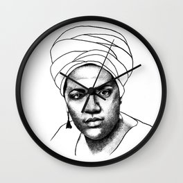 Audre Lorde Wall Clock