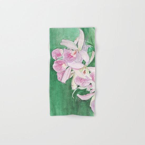 Orchid Cascade Hand & Bath Towel