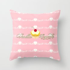 VANILLA CUPCAKE Throw Pillow