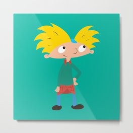 Hey Arnold! Metal Print