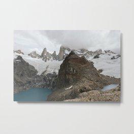 Laguna De Las Tres Metal Print