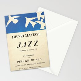 Henri Matisse Exhibition poster 1947 Stationery Cards