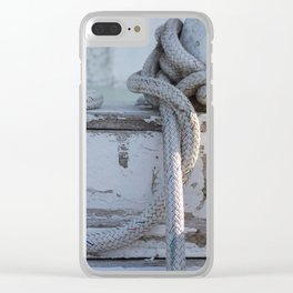 Rope Swag Clear iPhone Case