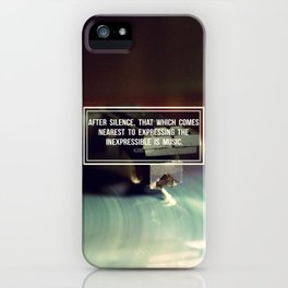 After Silence iPhone Case