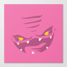 Krang! - Pink Squishy Edition Canvas Print
