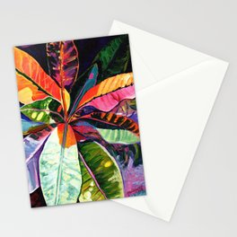 Kauai Croton Leaves Stationery Cards