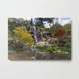 Waterfall at Maymont Park Metal Print