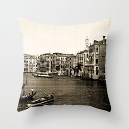 Venetian Memories Throw Pillow