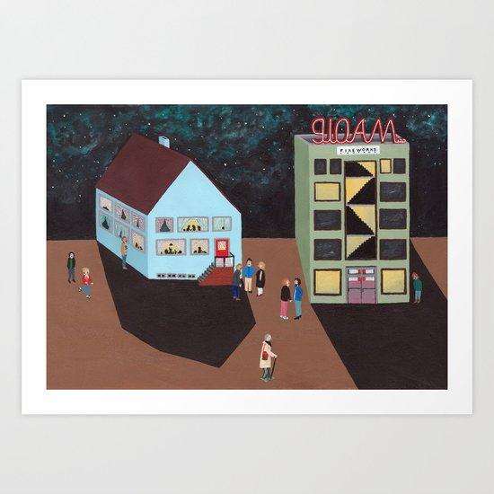 Gloam Ltd Art Print
