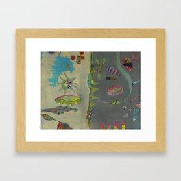 Bee Sunny Framed Art Print