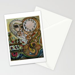 owls's watch pt2 Stationery Cards
