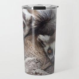 Lemur catta animals Travel Mug