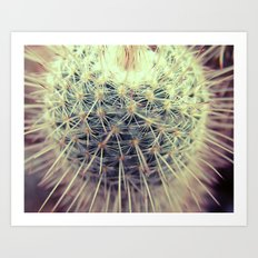 Cactus Therapy Art Print