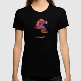 Kuwait  in watercolor T-shirt