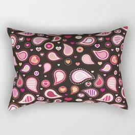 Pasley Burgundy Rectangular Pillow