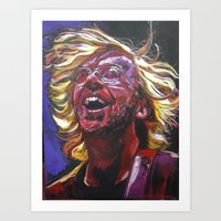 phish Art Prints featuring Trey Anastasio by Ray Stephenson