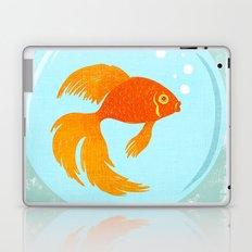 Goldfish Fishbowl Laptop & iPad Skin