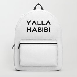 YALLA HABIBI Backpack