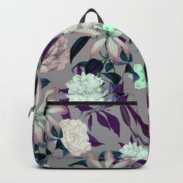 Flowery vintage pattern 0I Backpack