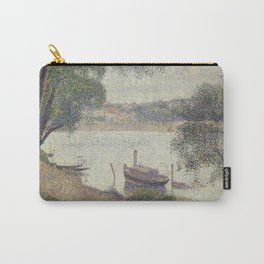 Gray weather, Grande Jatte Carry-All Pouch
