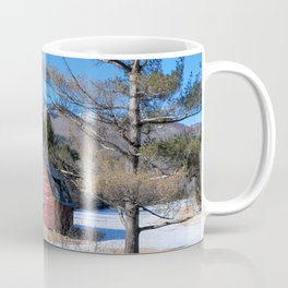 Deserted Barn in the Adirondacks Coffee Mug