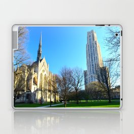 Heinz Chapel and Cathedral of Learning in Pittsburgh 12 Laptop & iPad Skin