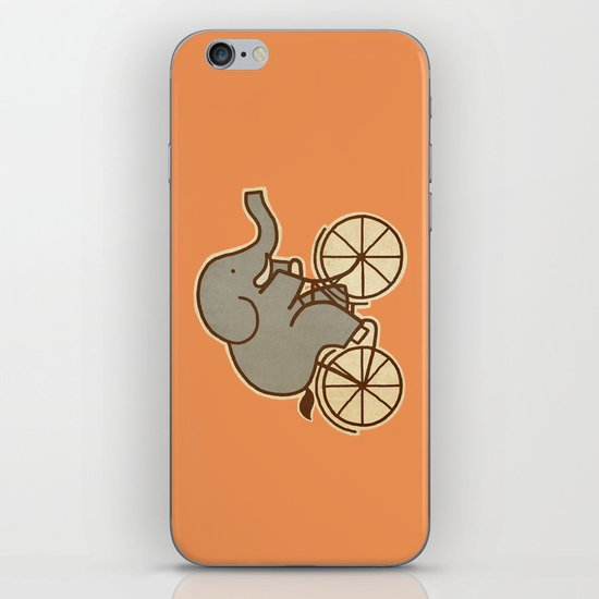 Elephant Cycle iPhone & iPod Skin
