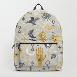Mystic, Third Eye, Palmistry Backpack