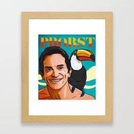 Jeff Probst Hot Sand Steamy Nights Framed Art Print