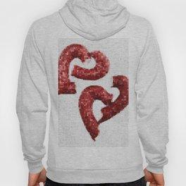 Broken Heart Mosaic Hoody