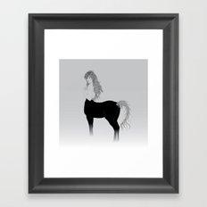 Centauro Framed Art Print
