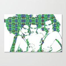 Models: Eniko, Abbey & Magdalena Canvas Print