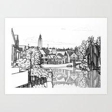 Norwich Art Print