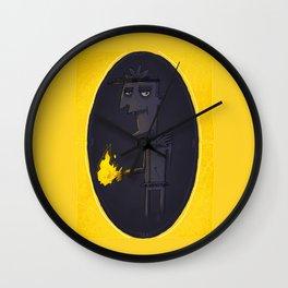 Pyrokinetic Wall Clock