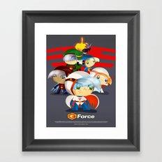 G force Framed Art Print